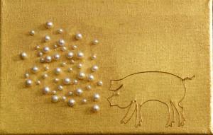 Francisca Botelho: exposição de arte com obras de ouro. Fica a dica!
