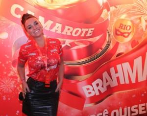 """Suzana Pires avisa: """"O presidente da Vila Isabel falou que sou pé quente!"""""""