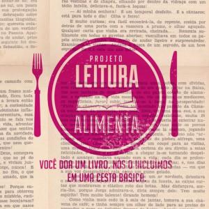Encontro com escritores e projeto Leitura Alimenta no JK Iguatemi