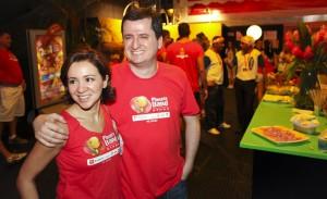 João Fernando Vassão, VP de desenvolvimento da rede Publicis, marcou presença no Camarote Planeta Band Othon
