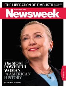 Hillary Clinton é eleita a mulher mais importante da história norte-americana