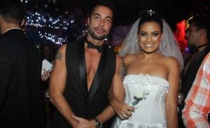 Noivo e noiva: as escolhas de Fernando Torquatto e Ildi Silva no Baile