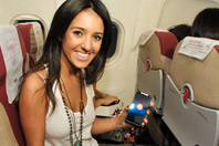 Glamurama Jet: Motorola mima foliões rumo a Salvador