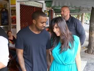 Tem que ter fôlego para seguir Kanye West e Kim Kardashian no Rio. Vem!