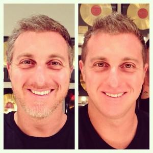 Luciano Huck brinca de antes e depois no Instagram. Entenda!