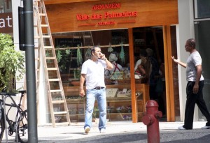 Marcos Palmeira abre loja de produtos de sua fazenda no Leblon