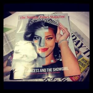Rihanna vibra ao ser comparada com princesa Diana em jornal britânico
