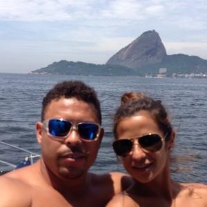 Vem ver Ronaldo curtindo o Rio de Janeiro com a namorada e as filhas