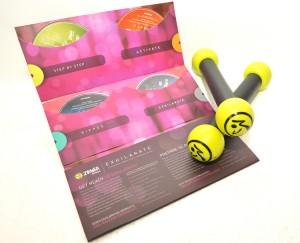 Quer ver o kit Exhilarate™, da Zumba Fitness, que os glamurettes vão ganhar?