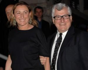 Miuccia Prada está na lista dos mais poderosos do mundo da moda
