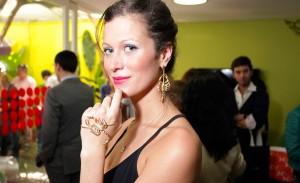 Pietra Bertolazzi apresenta sua marca de joias na Casa Glamurama