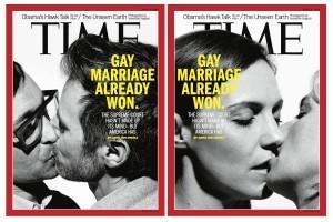 """""""O casamento gay já venceu"""", conclui a revista americana """"Time"""""""