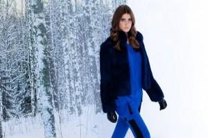 Top Guisela Rhein estrela guia de moda para Inverno da Animale