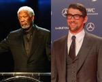 Prêmio no Rio: Morgan Freeman irritado e Michael Phelps sem humor