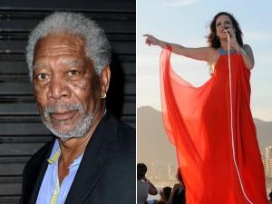 Bebel Gilberto canta em prêmio apresentado por Morgan Freeman no Rio