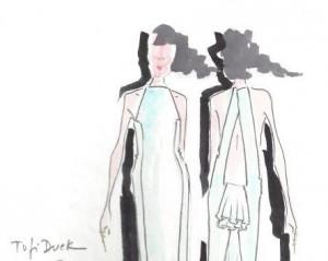 Glamurama mostra croqui da coleção Tufi Duek para SP Fashion Week