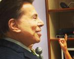 Silvio Santos faz visita surpresa para Isabella Fiorentino. Olha o clique!
