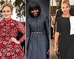Adele e Beyoncé vão cantar na festa de 50 anos de Michelle Obama