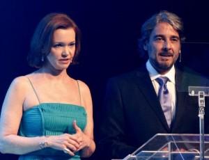 "Alexandre Borges elogia Julia Lemmertz… Por seu lado ""Amélia"""