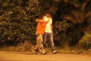 Juliana Paes e Carlos Eduardo Baptista: cenas de amor no Rio