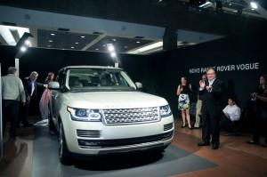 É hoje que os paulistas vão conhecer o novo Range Rover Vogue!