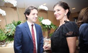 Carlos Jereissati Filho foi anfitrião de degustação de vinhos em SP