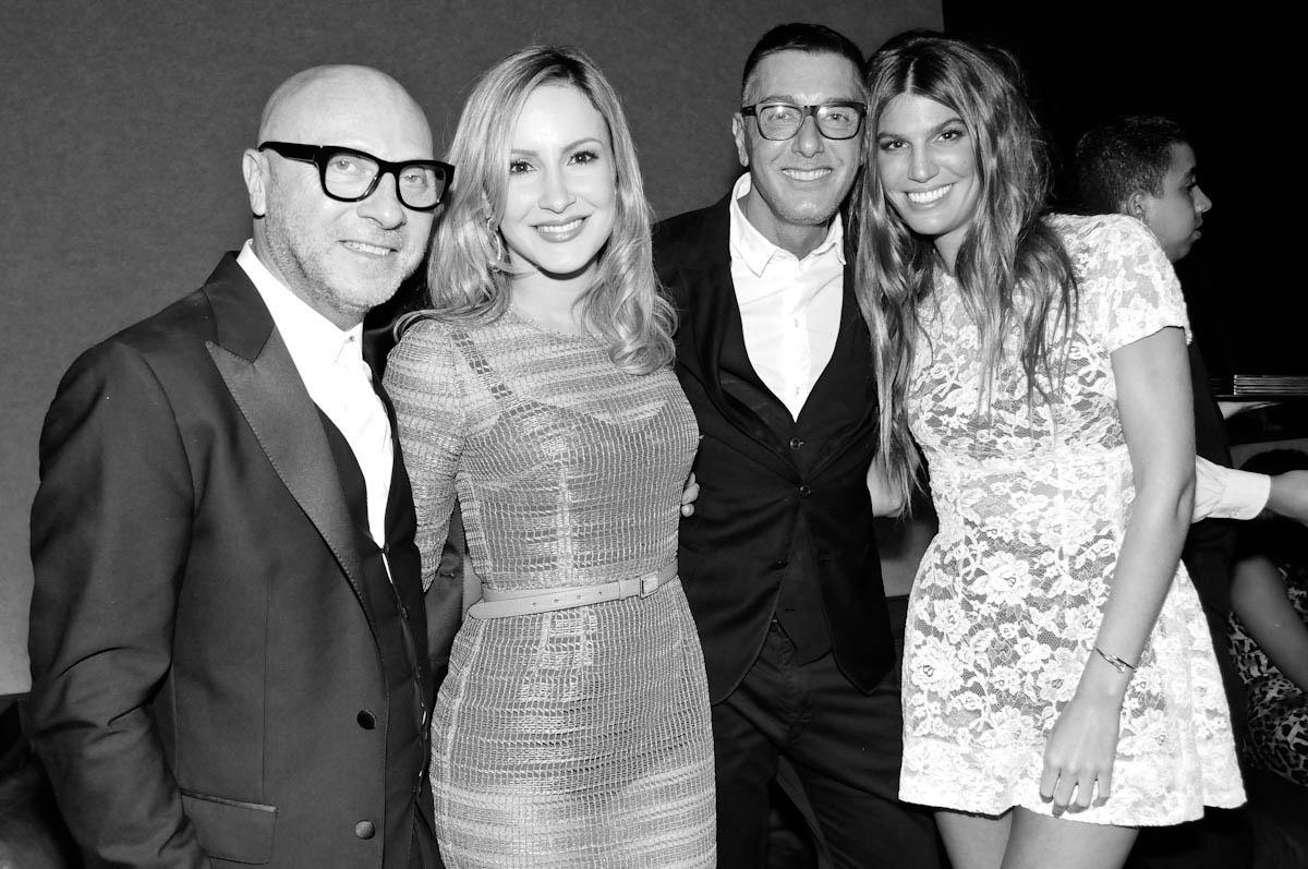 01006a10dad54 Domenico Dolce e Stefano Gabbana ganham festa fervida na pista do Numero
