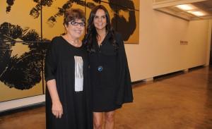 Abertura da exposição de Regina Silveira na Luciana Brito Galeria