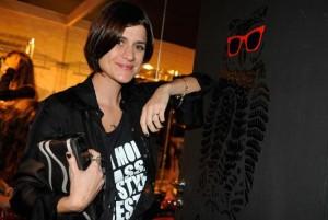 Giuliana Romanno arma almoço saudável para apresentar coleção