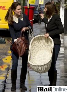Quer ver o presente de Kate Middleton para o seu primeiro filho?