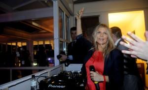 Depois do nosso papo, a festa no Rio: Fergie até cantou. Aos detalhes!