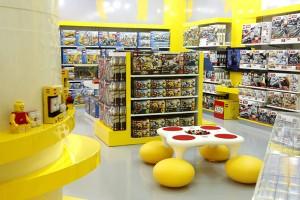 LEGO arma oficina para as crianças no Shopping Cidade Jardim