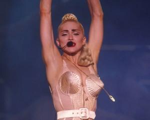 """Madonna ganha exposição """"pop up"""" em loja de departamento"""