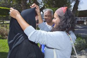 Flagra: Flora Gil faz a egípcia em viagem ao Cairo. Vem ver
