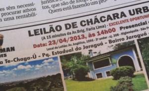 Um dos endereços mais míticos do hi-society paulistano vai a leilão. Glamurama conta