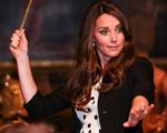 Kate Middleton e William se divertem nos estúdios de Harry Potter