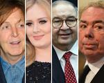 """Saiu a lista do """"The Sunday Times"""" com as pessoas mais ricas do Reino Unido"""