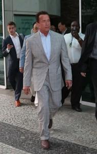 """Arnold Schwarzenegger no Rio: """"Estou na cruzada fitness há 40 anos"""""""
