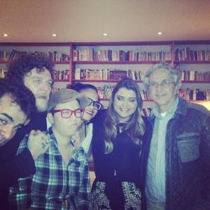 Caetano Veloso, Preta Gil, Otto e Maria Gadu juntos. O que será, hein?