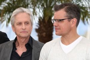 Efeito Liberace? Michael Douglas chora durante o Festival de Cannes