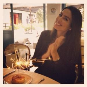 Iara Jereissati: aniversário com almoço entre amigas e jantar romântico