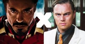 A batalha do fim de semana é entre DiCaprio e Downey Jr. Quem ganha?