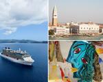 Conheça um pedacinho de Murano e a arte de soprar vidro em alto mar
