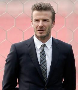 Beckham vai sair dos campos, mas não da lista dos mais bem pagos