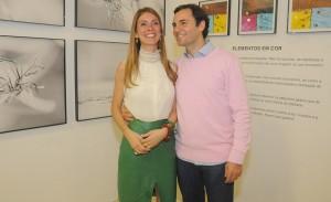 Fabiano Al Makul recebeu para abertura de sua exposição de fotos em SP