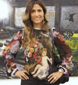 Carola Diniz anda investindo em arte. O artista em foco?