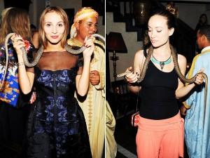 Olivia Wilde e Harley Viera Newton ousam em evento em Marrakesh. Como?