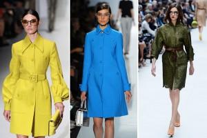 O clássico trench coat chega repaginado para o outono. Espia só