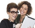 Costanza Pascolato e Consuelo Blocker: moda de mãe para filha e de filha para mãe