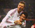 Alexandre Pato presta homenagem fofa ao ex-colega David Beckham